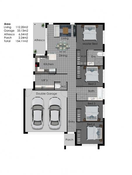 Ashburton design for 100 floor level 34